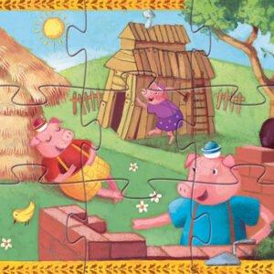 """puzzle """"ta tria gourounakia"""" 24 temaxia"""